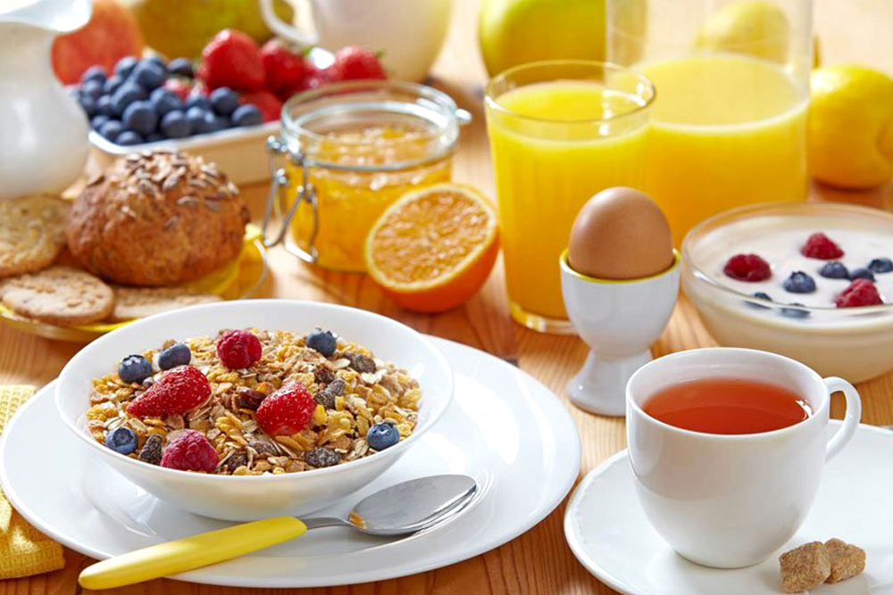 Your Breakfast must contain these foods