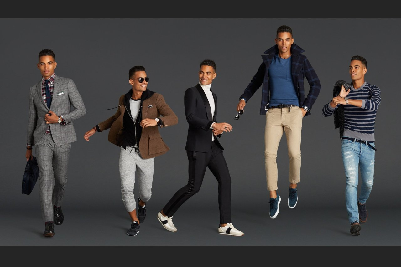 Top trends for men in fall 2017