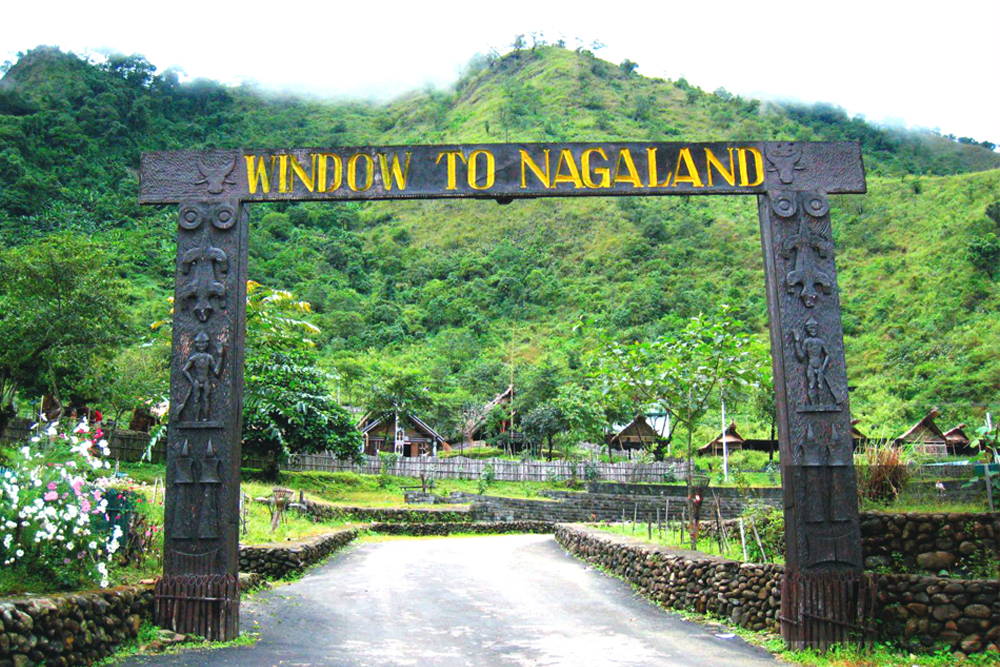 Nagaland declared independence from India