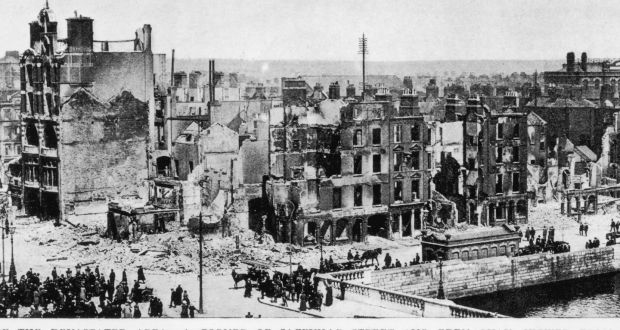 literary analysis of Easter 1916