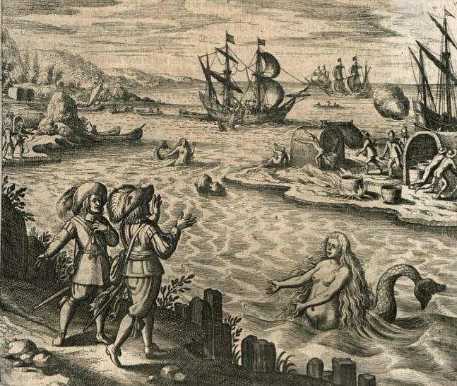 encounter with the sirens as an epic poem